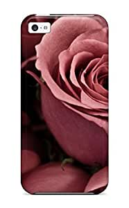 5c Scratch-proof Protection Case Cover For Iphone/ Hot Flower Phone Case