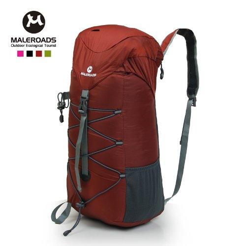 6e7f0debdb forwardMai Lushi magic ultralight folding skin bag casual shoulder bag bag  outdoor bag BackpacksRose Red  Amazon.co.uk  Sports   Outdoors