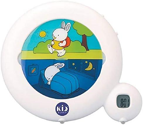 Claessens Kid Sleep Classic Night Light Sleep Trainer Alarm Clock White