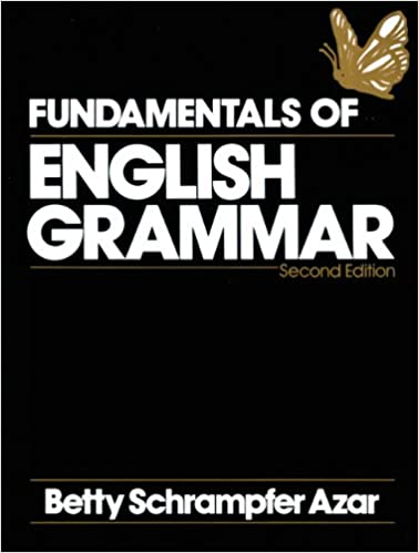 Fundamentals Of English Grammar Second Edition Betty Schrampfer