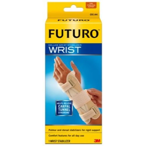 Image of 3M Health Care 09090ENT Wrist Stabilizer, Right Hand, Small/Medium, Beige (Pack of 12) Hand & Wrist Braces