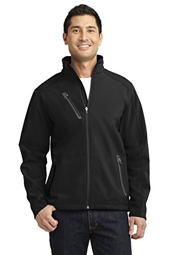 Port Authority Welded Soft Shell Jacket. J324 Black 2XL