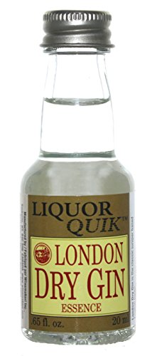 Liquor Quik Natural Gin Essence, 20 mL (London Dry Gin)