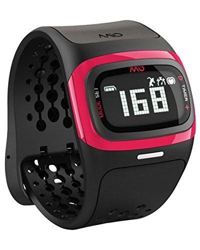Mio ALPHA 2 Heart Rate Watch + Activity Tracker, Short Strap, punch