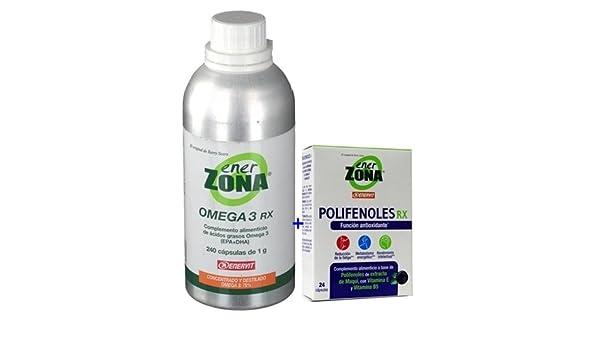 PACK: Enerzona omega3,1gr,240cap+Enerzona Polifenoles ...