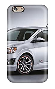 Tough Iphone VngRKQd272etkXE Case Cover/ Case For Iphone 6(chevy Sonic Z Silver Car )(3D PC Soft Case)