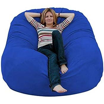 Amazon Com Cozy Sack 6 Feet Bean Bag Chair Large Royal