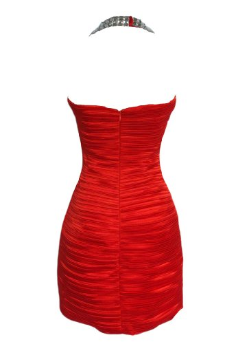 Damen Fashion Kleid Alivila Y Rot x6545EqA7w