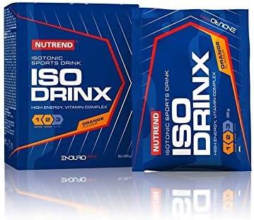 Nutrend ISODRINX isotonische Sportgetränk Ihres Körper eine gute Portion Energie für körperliche Aktivität 420g Grapefruit