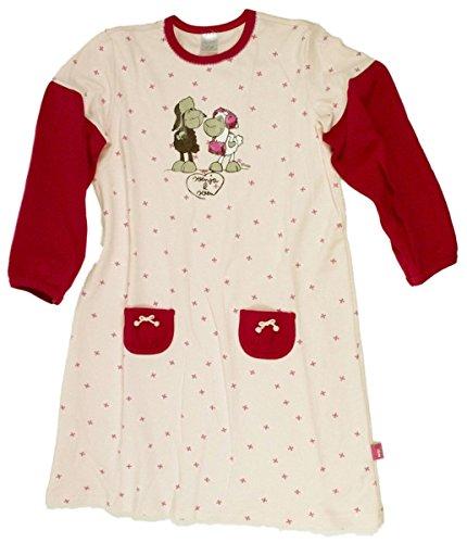 Schiesser Mädchen Sleepshirt Langarm Jolly Mäh - 129893, Größe Kinder:104;Farbe:rosa