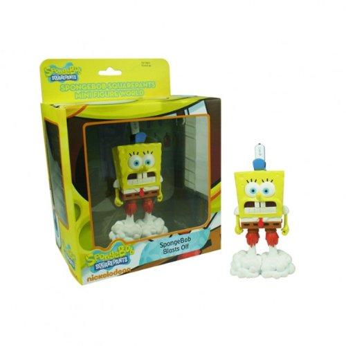 SpongeBob SquarePants Mini figura Serie Mundial 1 – Golpea a Bob Esponja Off