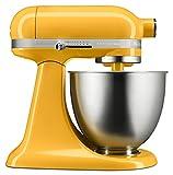 KitchenAid KSM3311XHT Artisan Mini Series Tilt-Head Stand Mixer, 3.5 quart, Hot Sauce
