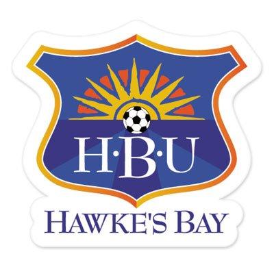 Hawkes Bay New Zealand (Hawkes Bay United - New Zealand Football Soccer Futbol - Car Sticker - 4