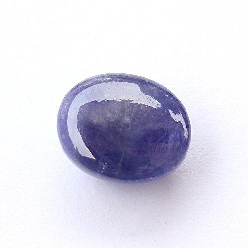 Be You Bleu Couleur Naturelle Afrique Tanzanite Good Qualité 11.5x9.5x6.5 mm Taille Cabochon Ovale Forme 1 pcs de Pierres précieuses en Vrac