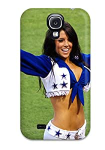 First-class Case Cover For Galaxy S4 Dual Protection Cover Dallasowboys