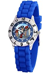 Marvel Kid's MA0103-D2772-BlueRubber Marvel Super Hero Squad Classic Time Teacher Watch
