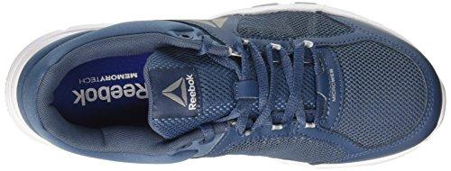 Reebok BD4822, Zapatillas de Deporte Para Hombre, Azul (Azul (Brv Blu/Gble Gry/Wht/Pwtr/Blk/Gry), 47 EU