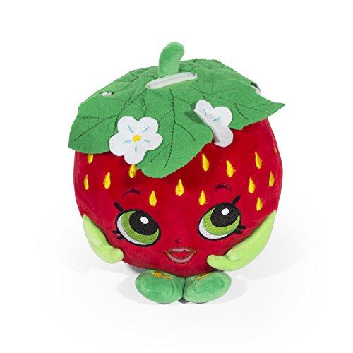 Shopkins Strawberry Kiss Plush Bank - Moose Bank