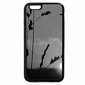 iPhone 6S Case, iPhone 6 Case (Black & White) - Autumn Red Sunset