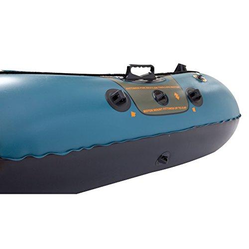 Sevylor sevylor fish hunter 280 4 person fishing boat with for Fish hunter raft