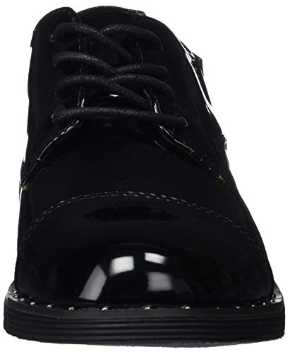 Scarpe Nero Stringate 002 Paris Donna COOLWAY Abk Oxford CanHx6
