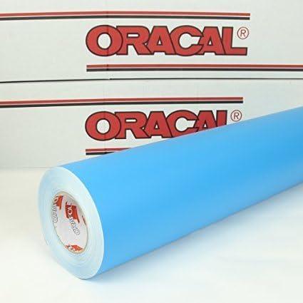 Oracal 641-Adhesivo-5 m x 63 cm-Pellicola para plotter-Protector para tallar-Lámina de muebles-Autoadhesivo protector para plotter-053 azul: Amazon.es: Coche y moto