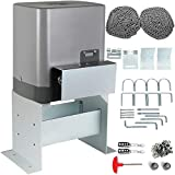 OrangeA Sliding Gate Opener AC1400 3100Lbs with 2 Remote Controls Move Speed 43ft Per Min, (3100 LBS)