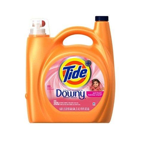 Tide Plus Downy Laundry Detergent, April Fresh 170 Oz