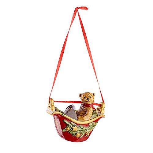 - Villeroy & Boch My Christmas Tree Ornament Gondola: Teddy