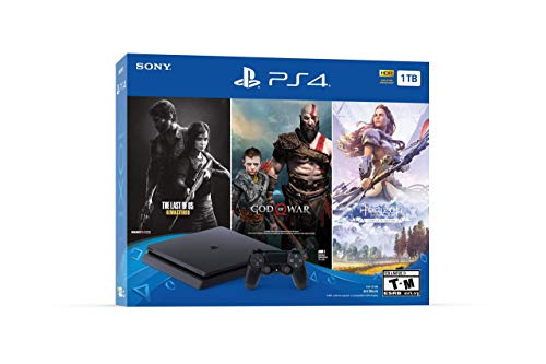 PlayStation 4 Slim 1TB Console – Only On PlayStation Bundle (Renewed)