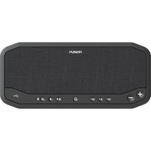 Fusion PS-A302B AM/FM Panel stereo system with Bluetooth, USB, Line Out: all-in-one entertainment center for boat or RV (010-02005-00)