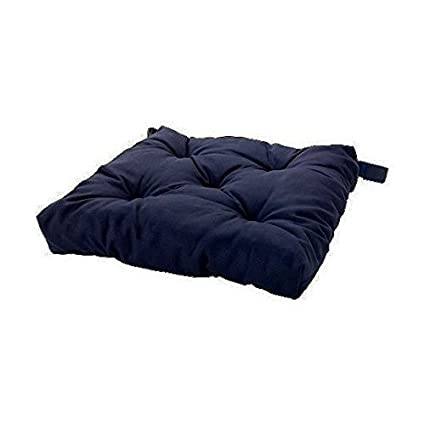 Exceptionnel Ikea Navy Blue Soft Chair Cushion / Pad (1)