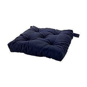 Captivating Ikea Navy Blue Soft Chair Cushion / Pad