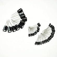 Gikfun Electrolytic Capacitor Kit 1uF 10uF 100uF 1000uF Each 10 For Arduino (Pack of 40pcs) EK2126