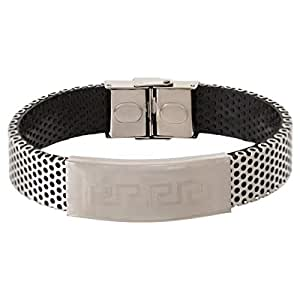 Style Jewellery Men's New Silver Plated Masculine Bracelet