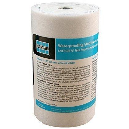 Laticrete Waterproofing Membrane Fabric - 6'' x 75' Roll by Laticrete