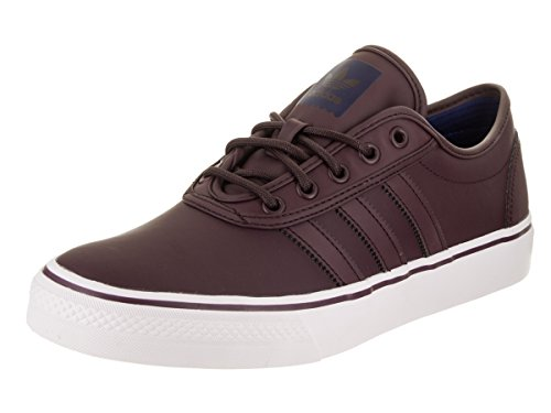 Adidas Heren Adi-ease Lace Up Sneaker Donker Bordeaux / Schoenen Wit / Mystery Inkt Synthetische