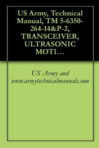 Transceiver Manual - US Army, Technical Manual, TM 5-6350-264-14&P-2, TRANSCEIVER, ULTRASONIC MOTION SIGNAL, RT-1161/FSS-9(V), (NSN 6350-00-228-2566), AND PROCESSOR, ULTRASONIC