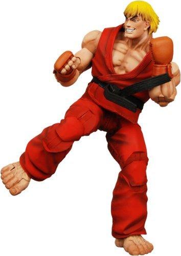 Boneco Figura de Ação Street Fighter Series 1 Ken
