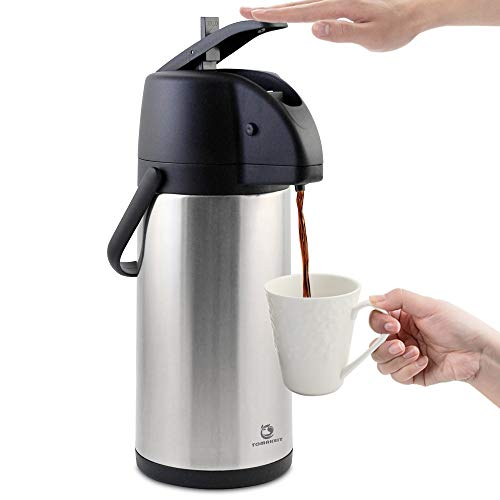 TOMAKEIT Insulated Stainless Beverage Dispenser product image