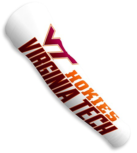 Fansleeves Virginia Tech Hokies Compression Sleeves For Arms For Men   Women  Sold As A Pair