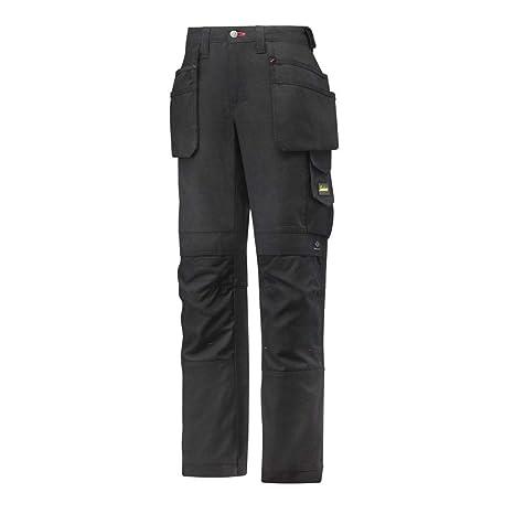 4215d01862c2 Snickers Workwear, Pantaloni da lavoro Donna Canvas taglia 40, Nero  (Nero-Nero