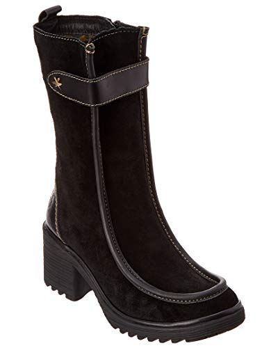 42 Black London Woof FLY Boot Suede 6I0qTH
