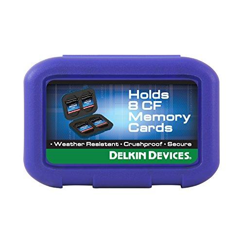 - Delkin CompactFlash (CF) 8 Card Carrying Case DDACC-CF8