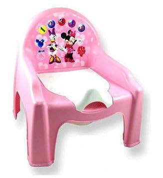 Chaise Petit Pot De Chambre Bebe Minnie Disney Dimension 30 Cm X 35