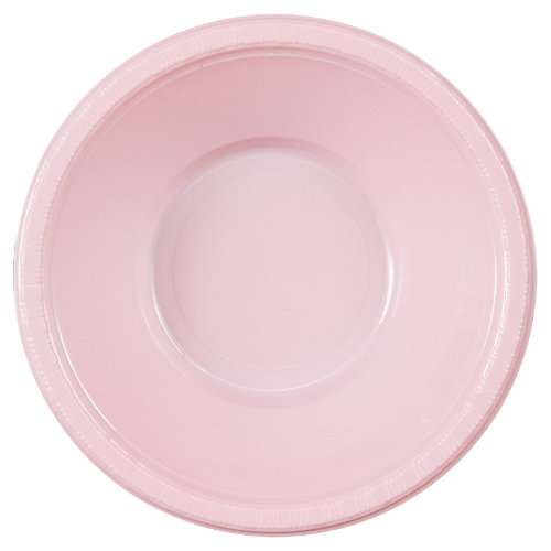 Creative Converting Classic Pink Plastic Bowls - 20 ct