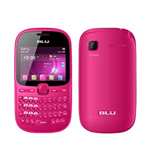 BLU Hero Pro Q333W Unlocked GSM Triple-SIM Cell Phone - Pink