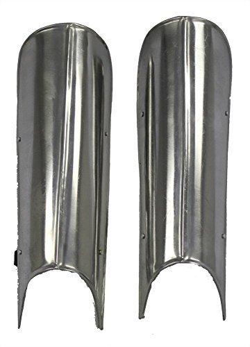 NAUTICALMART Gothic Medieval Knight Steel Greaves Leg Armor: Renaissance -