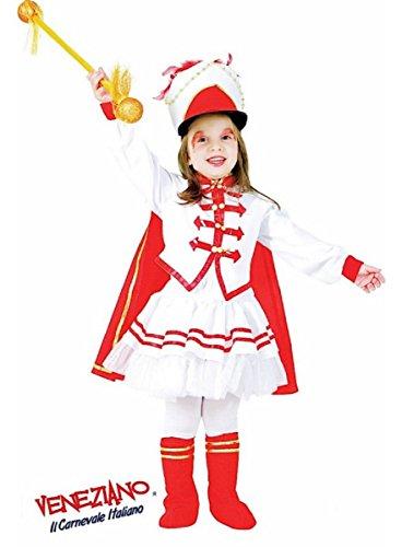 Deluxe Drum Majorette Marching Band Uniform Costume Girls