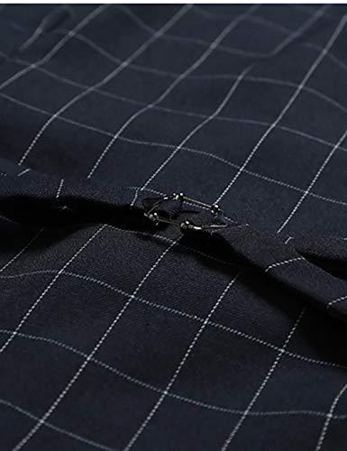 Gris En Coton 5xl Mode Taille La Gilet À L Homme Casual Boutonné Wixens CB7SwCq
